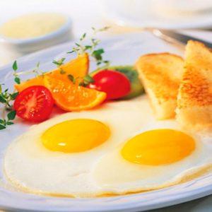Меню завтрака