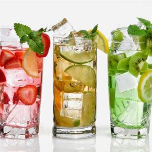 Прохладительные напитки: